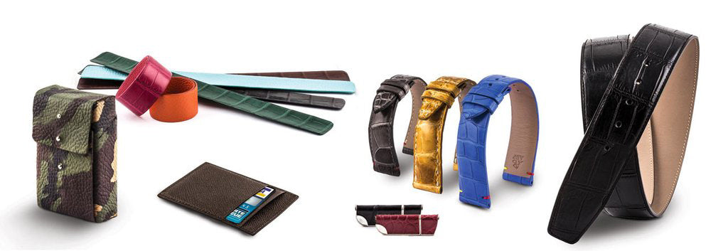 bracelets montres maroquinerie paris watch bands leather goods