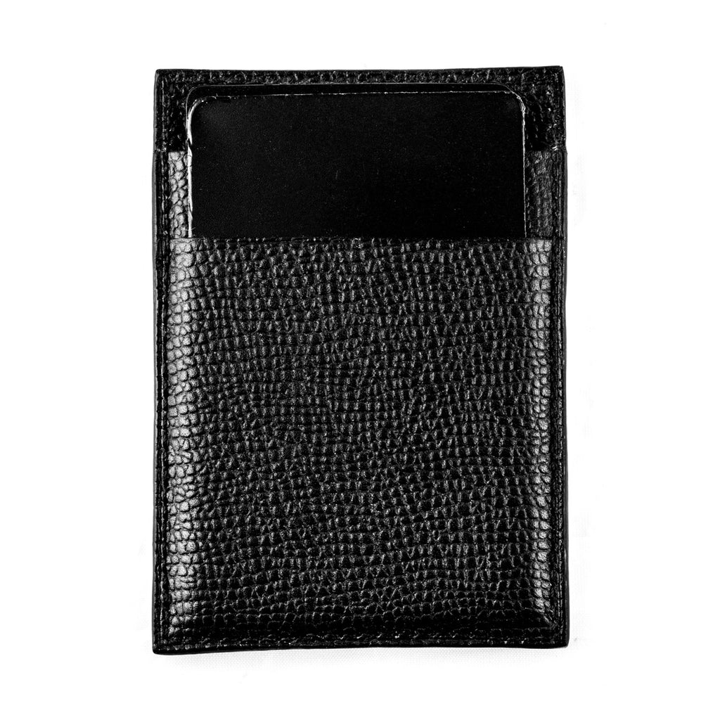 Etui cuir cartes bancaires vertical «Magellan» - watch band leather strap - ABP Concept -