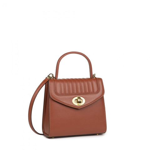 Delage - Sac Freda mini marron fauve