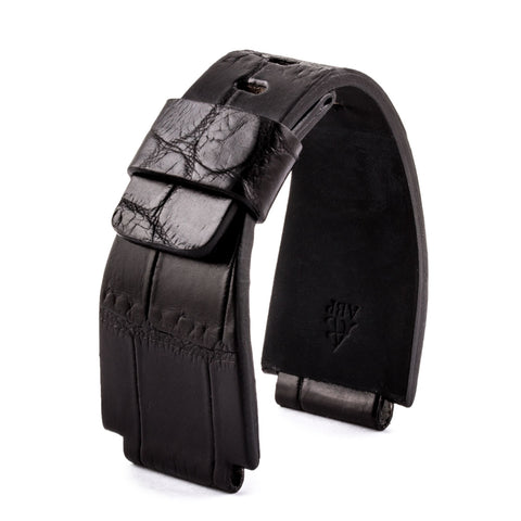 ABP Bell & Ross Noir alligator strap