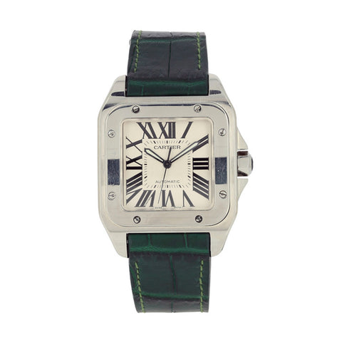"Montre d'occasion - Cartier ""Santos 100XL"" - 4150€"
