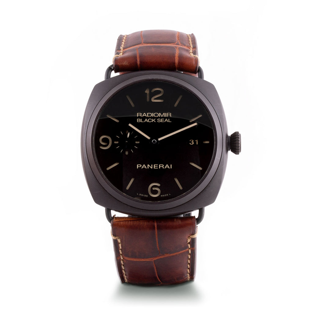 Montre d'occasion - Officine Panerai - Radiomir - 5900€ - watch band leather strap - ABP Concept -