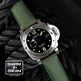 Panerai - Rubber B - Bracelet caoutchouc pour Luminor Submersible 44mm - SwimSkin®