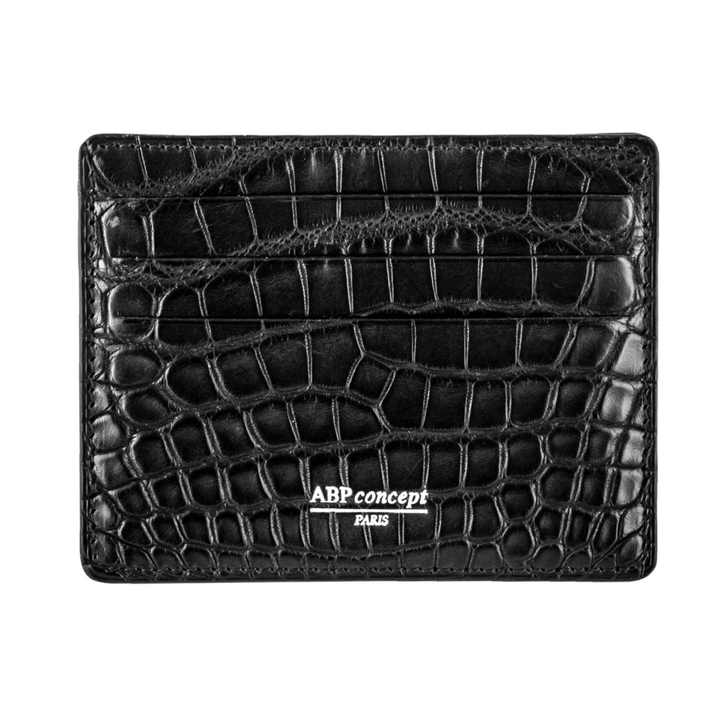 Platinum etui cb cartes bancaires alligator crocodile