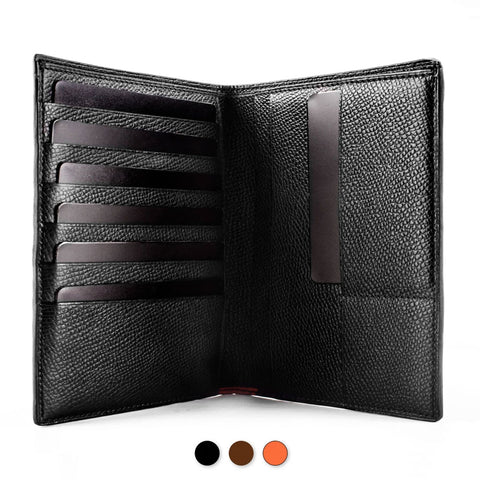 wallet leather calf cuir porte feuille magellan