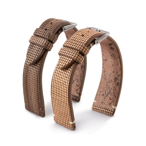 Bracelet de montre Eco-friendly - Feuille de bois NUO