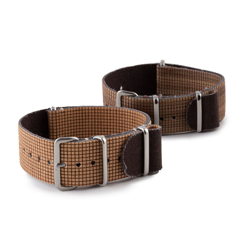 Bracelet montre Nato  Eco-friendly - Feuille de bois NUO