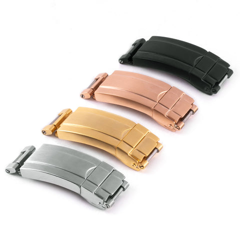 Boucle déployante type Rolex Moderne ABP - watch band leather strap - ABP Concept -
