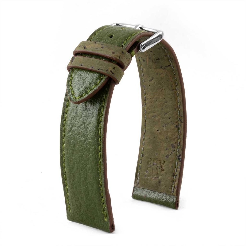 Bracelet de montre Eco-friendly - Cactus - watch band leather strap - ABP Concept -