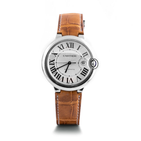 Montre d'occasion - Cartier - Ballon Bleu - 4500€ - watch band leather strap - ABP Concept -