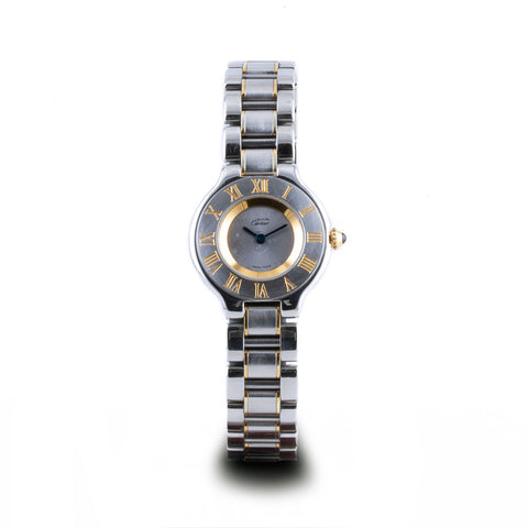 "Montre d'occasion - Cartier - ""Must 21"" - 1200€"