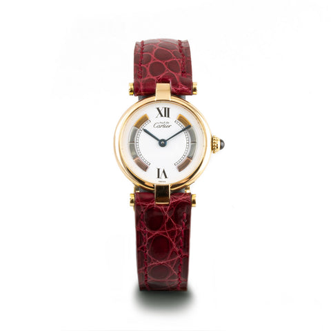 "Montre d'occasion - Cartier ""Must Vendôme"" - 1500€"
