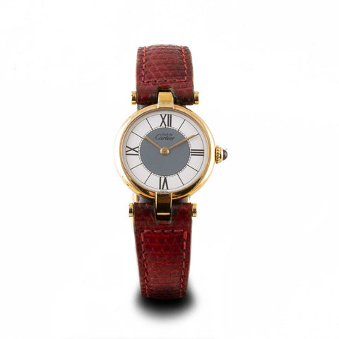 "Montre d'occasion - Cartier ""Must Vendome"" - 1500€"