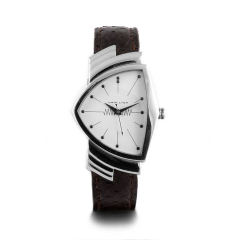 Montre d'occasion - Hamilton - Ventura - 400€ - watch band leather strap - ABP Concept -