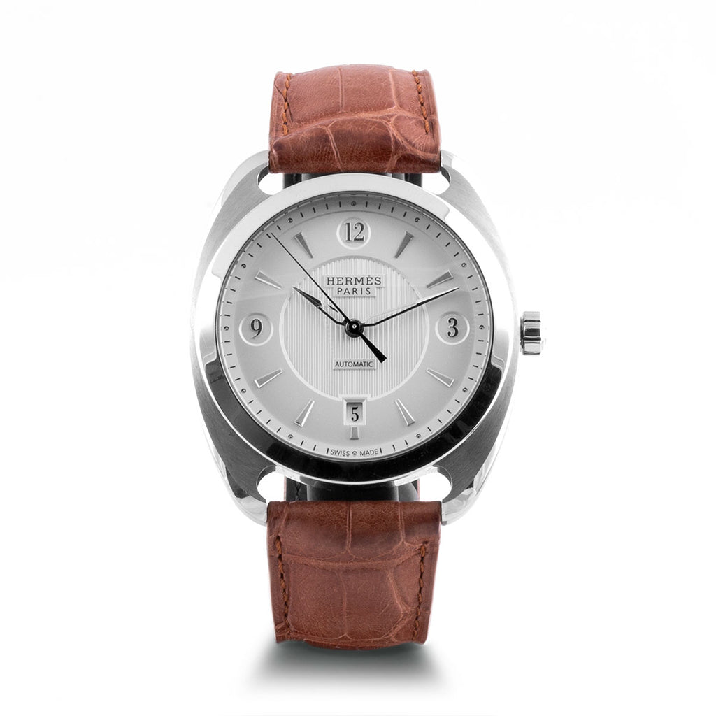 Montre d'occasion - Hermès - Dressage - 3800€ - watch band leather strap - ABP Concept -
