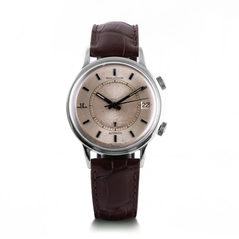 Montre d'occasion - Jaeger Lecoultre - Memovox - 3500€ - watch band leather strap - ABP Concept -