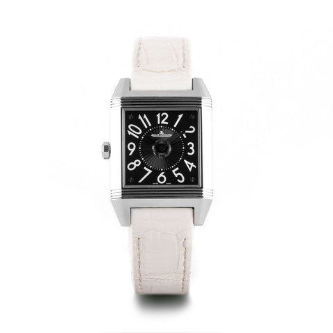 Montre d'occasion - Jaeger Lecoultre - Reverso Squadra Dual Time- 4300€ - watch band leather strap - ABP Concept -