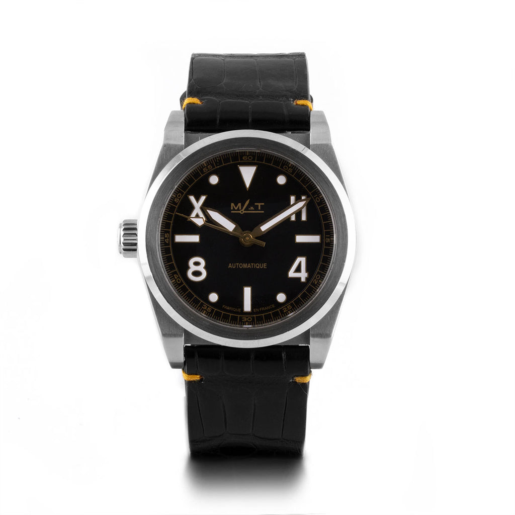 Montre d'occasion - MAT - California Black - 1000€ - watch band leather strap - ABP Concept -