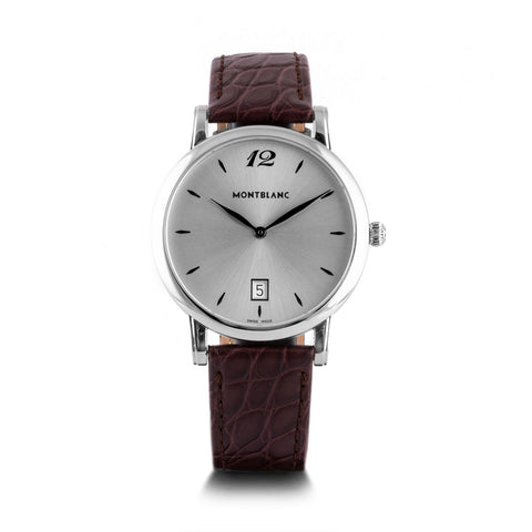 Montre d'occasion - Montblanc - Star Classique - 1100€ - watch band leather strap - ABP Concept -