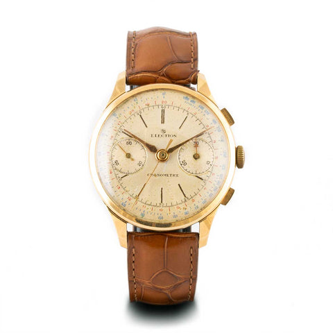 Montre d'occasion - Election - 2300€ - watch band leather strap - ABP Concept -