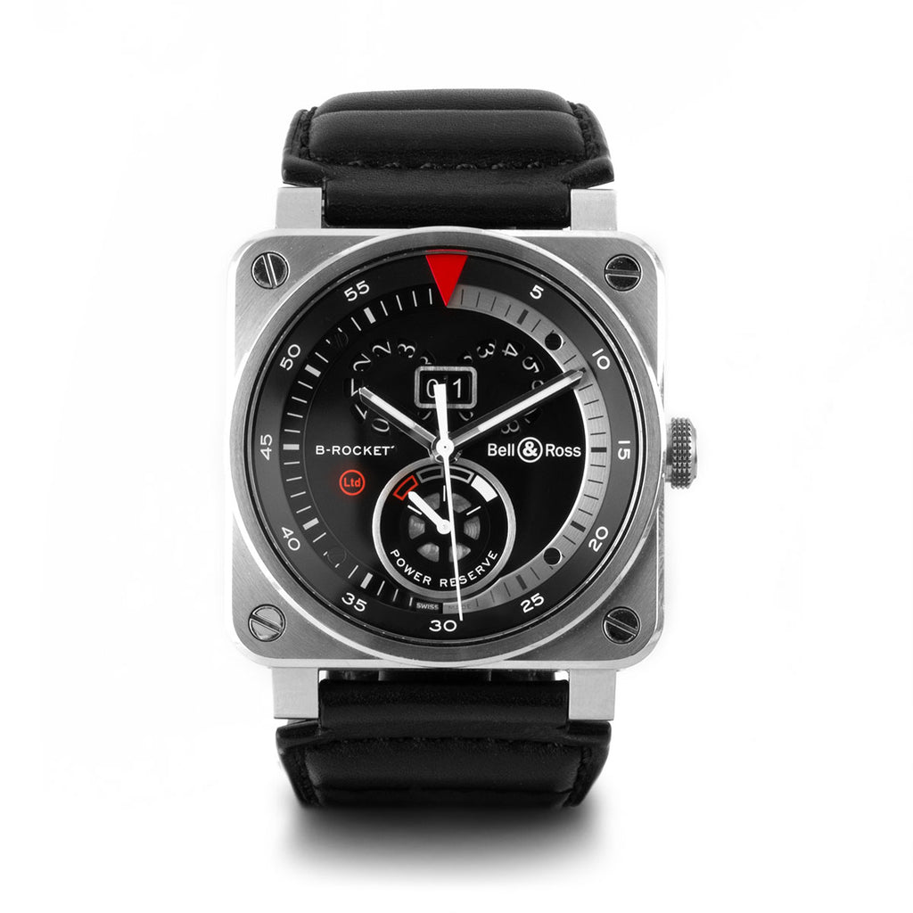 Montre d'occasion - Bell & Ross - BR03 B-Rocket - 3200€ - watch band leather strap - ABP Concept -