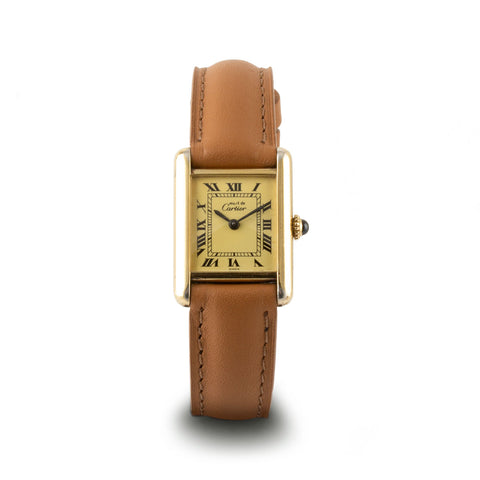 "Montre d'occasion - Cartier ""Tank Must"" - 1600€"