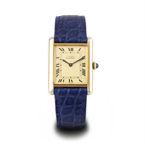 Montre d'occasion - Cartier Tank Must - 1500€