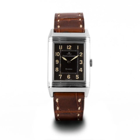 Montre d'occasion - Jaeger Lecoultre - Reverso - 3900€ - watch band leather strap - ABP Concept -
