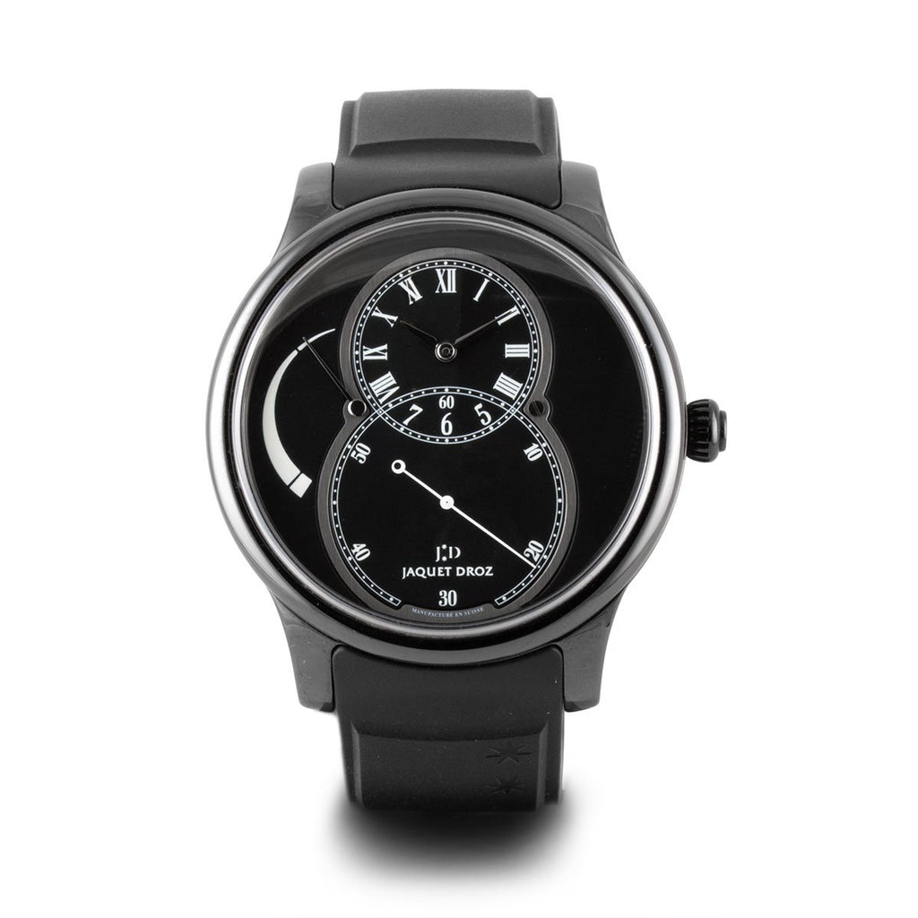Montre d'occasion - Jaquet Droz - Grande Seconde (édition limitée) - 8900€ - watch band leather strap - ABP Concept -