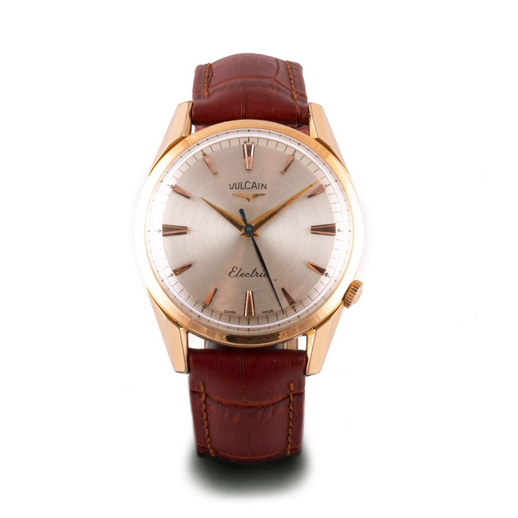 Montre d'occasion - Vulcain - Electric - 1500€ - watch band leather strap - ABP Concept -