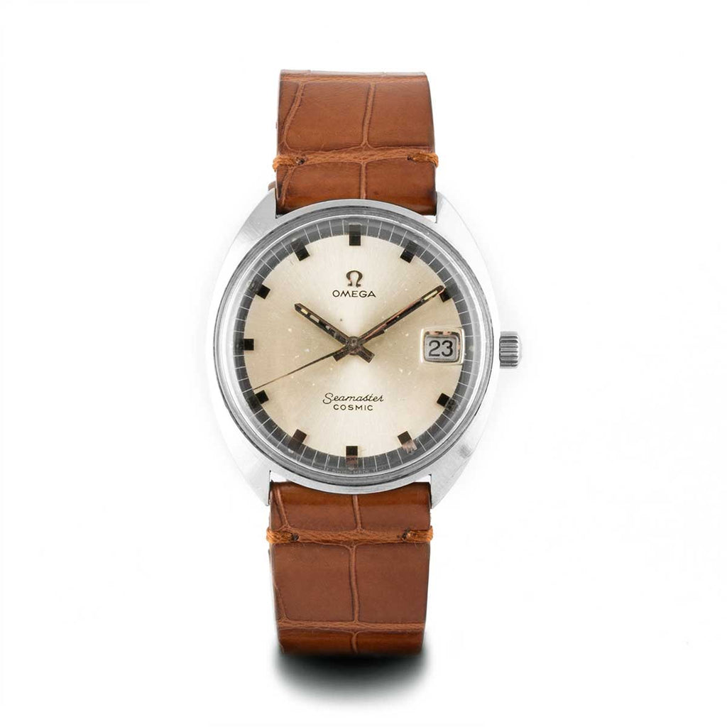 Montre d'occasion - Omega - Seamaster - 1000€ - watch band leather strap - ABP Concept -