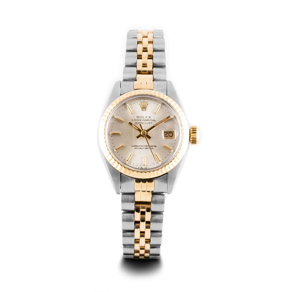 Montre d'occasion - Rolex - Lady Datejust - 2400€ - watch band leather strap - ABP Concept -