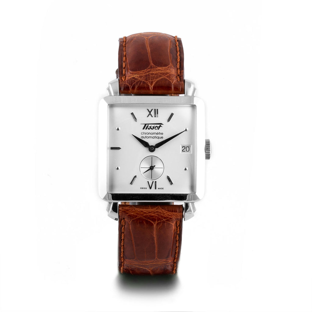 Montre d'occasion - Tissot - Heritage 1952 - 300€ - watch band leather strap - ABP Concept -