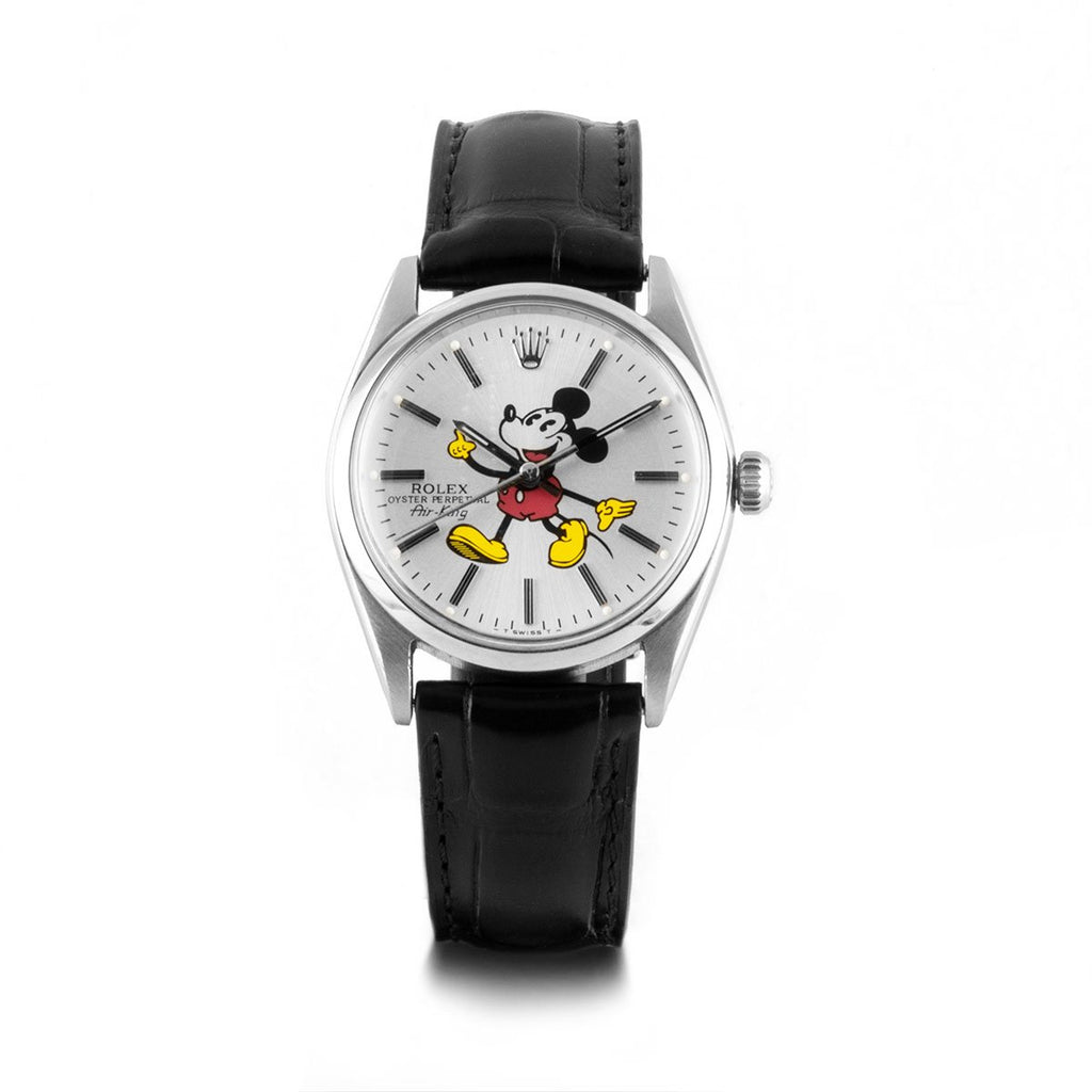 "Montre d'occasion - Rolex - Air King ""Mickey"" - 3400€ - watch band leather strap - ABP Concept -"