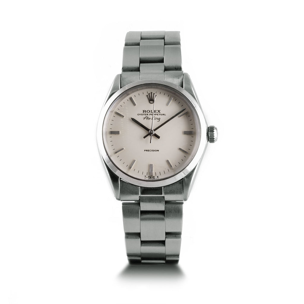 Montre d'occasion - Rolex - Oyster Perpetual Air King - 2350€ - watch band leather strap - ABP Concept -