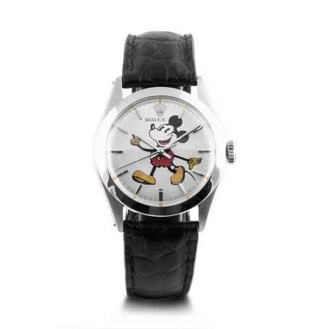 "Montre d'occasion - Rolex - ""Mickey"" - 2350€ - watch band leather strap - ABP Concept -"