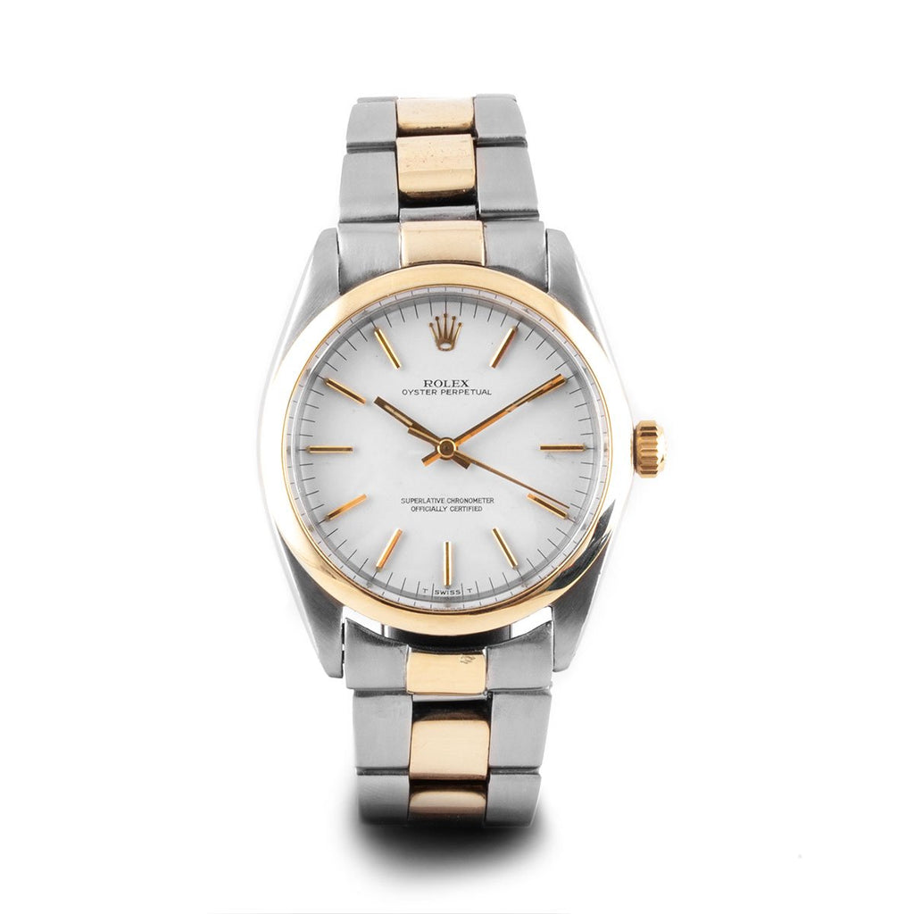Montre d'occasion - Rolex - Oyster Perpetual - 3500€ - watch band leather strap - ABP Concept -