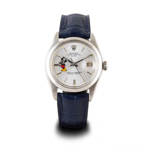 "Montre d'occasion - Rolex - Oyster Perpetual Date ""Mickey"" - 3700€"