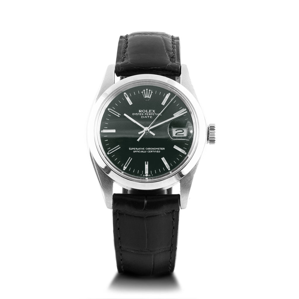 Montre d'occasion - Rolex - Date - 2500€ - watch band leather strap - ABP Concept -