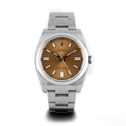 Montre d'occasion - Rolex - Oyster Perpetual - 4400€ - watch band leather strap - ABP Concept -