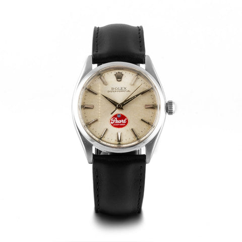 Montre d'occasion - Rolex - Oyster perpetual - 2800€ - watch band leather strap - ABP Concept -