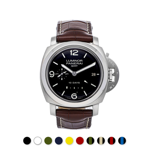 Panerai - Rubber B - Bracelet caoutchouc pour Luminor 1950 44mm (Type II) - watch band leather strap - ABP Concept -