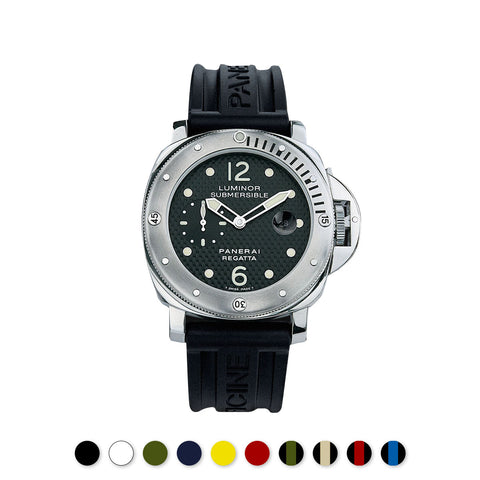 Panerai - Rubber B - Bracelet caoutchouc pour Luminor Submersible 44mm - watch band leather strap - ABP Concept -