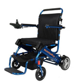JBH powerchair Blue Folding Bootable Powerchair MB-D05
