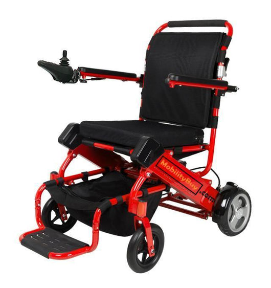 JBH powerchair Red Folding Bootable Powerchair MB-D05