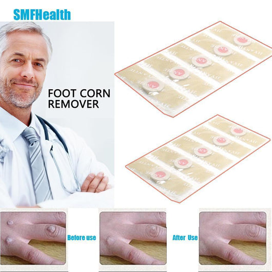 Mobility Buy LTD Foot Corn Remover Plaster Detox Foot Pad Patches Medical Patch Relieving Blisters & Corn Friction Pain Foot Care Tools C027