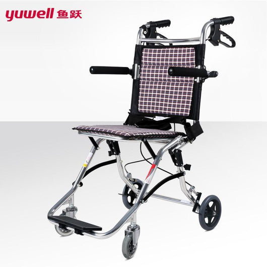 Mobility Buy LTD yuwell 1100 handicapped wheelchairs for elderly folding portable wheelchairs for the disabled light aluminium disable wheelchair
