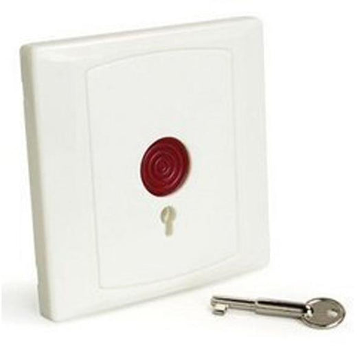 Emergency Button with Key access control Disabled toilet alarm