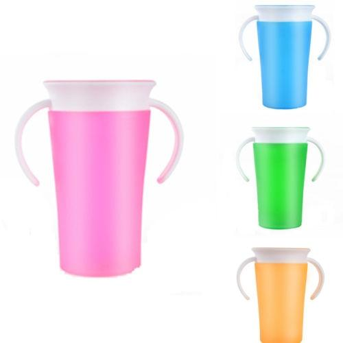 Miracle Cups With Handles 360 Degree Drink Prevent Leaking cup