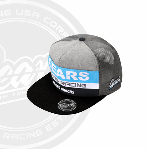 2020  GEARS RACING DESIGN GRD TRUCKER HAT / SNAPBACK GRD-2020-TH01